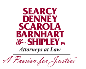 Logo for Searcy, Denney, Scarola, Barnhart & Shipley, Attorneys at Law